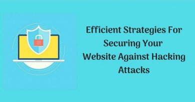 9 Efficient Strategies For Securing Your Website Against Hacking Attacks
