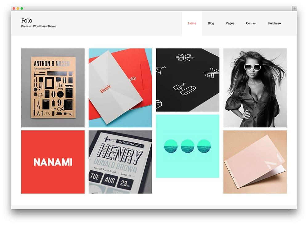 folo creative portfolio theme web hosting blog by milesweb