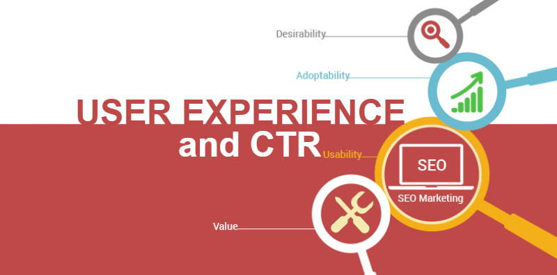 User Experience and CTR in SEO
