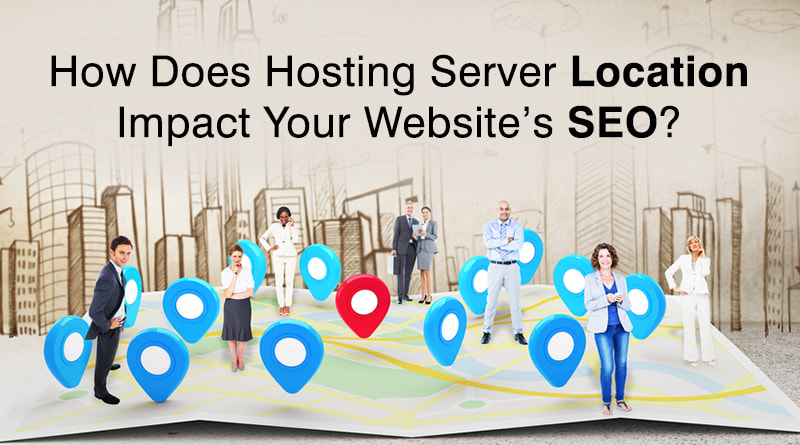 web hosting, server location, SEO
