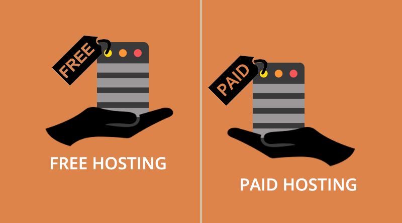 free hosting, paid hosting, web hosting