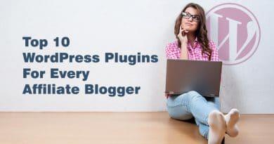 affiliate blogger, WordPress plugins