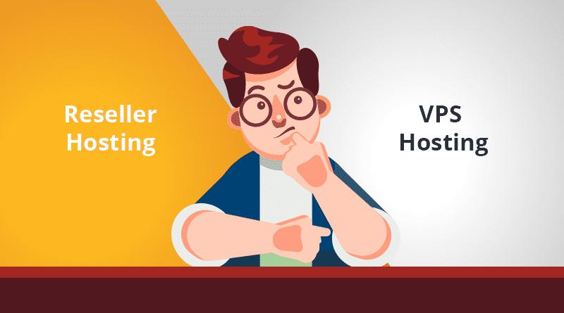 reseller hosting, VPS hosting