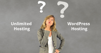 What is the Difference Between Unlimited Hosting and WordPress Hosting?