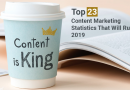 Top 23 Content Marketing Statistics That Will Rule 2019