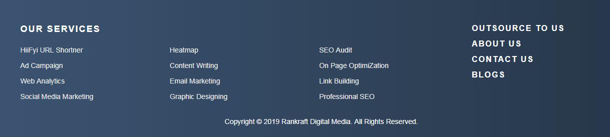 Rankraft website