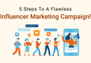 Influencer Marketing : 5 Steps To A Flawless Influencer Marketing Campaign!