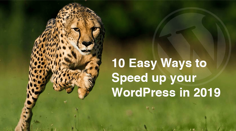 10 ways to speed up WordPress website