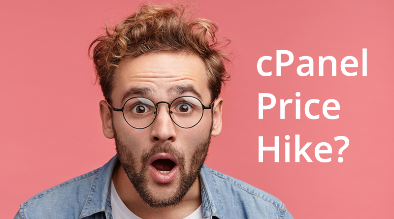 cPanel Price Hike, cPanel Price increase