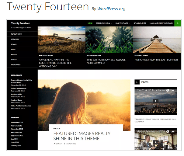 Twenty Fourteen - WordPress theme WordPress org