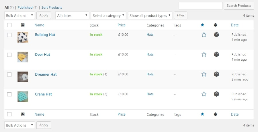 woocommerce-products