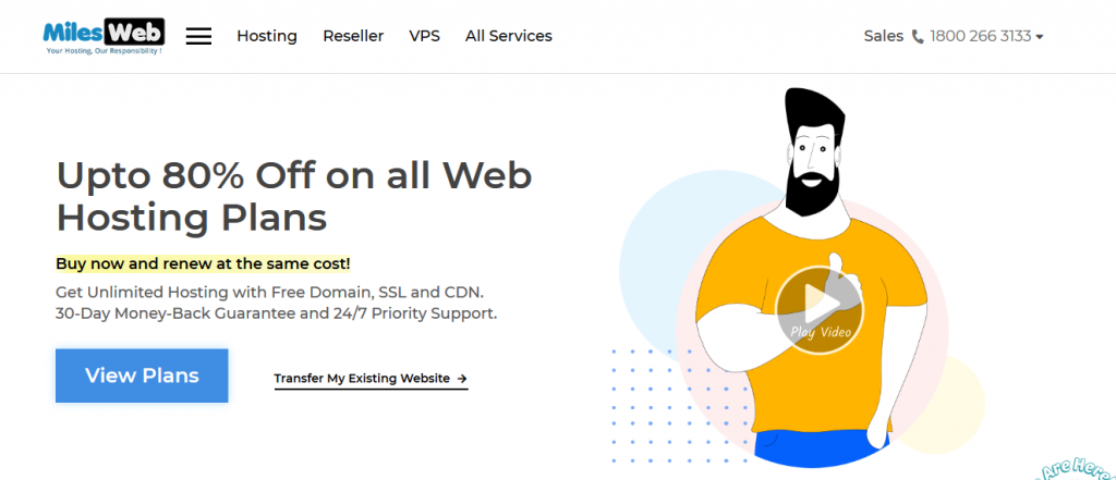 MilesWeb Web Hosting Services