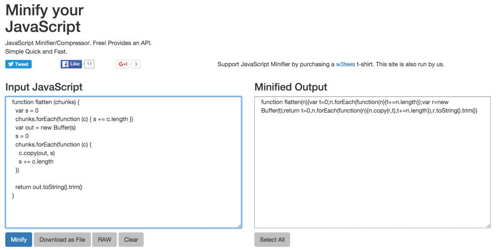 minify-javascript-min - Web Hosting FAQs by MilesWeb
