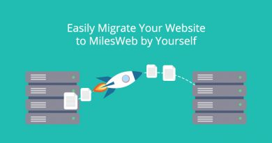 Easily Migrate Your Website to MilesWeb by Yourself