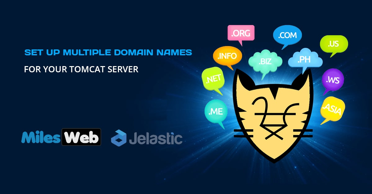 How To Setup Multiple Domain Names On A Single Apache Tomcat Server
