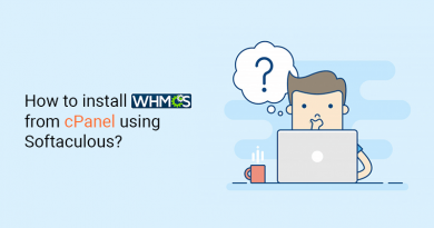 How to install WHMCS from cPanel using Softaculous?