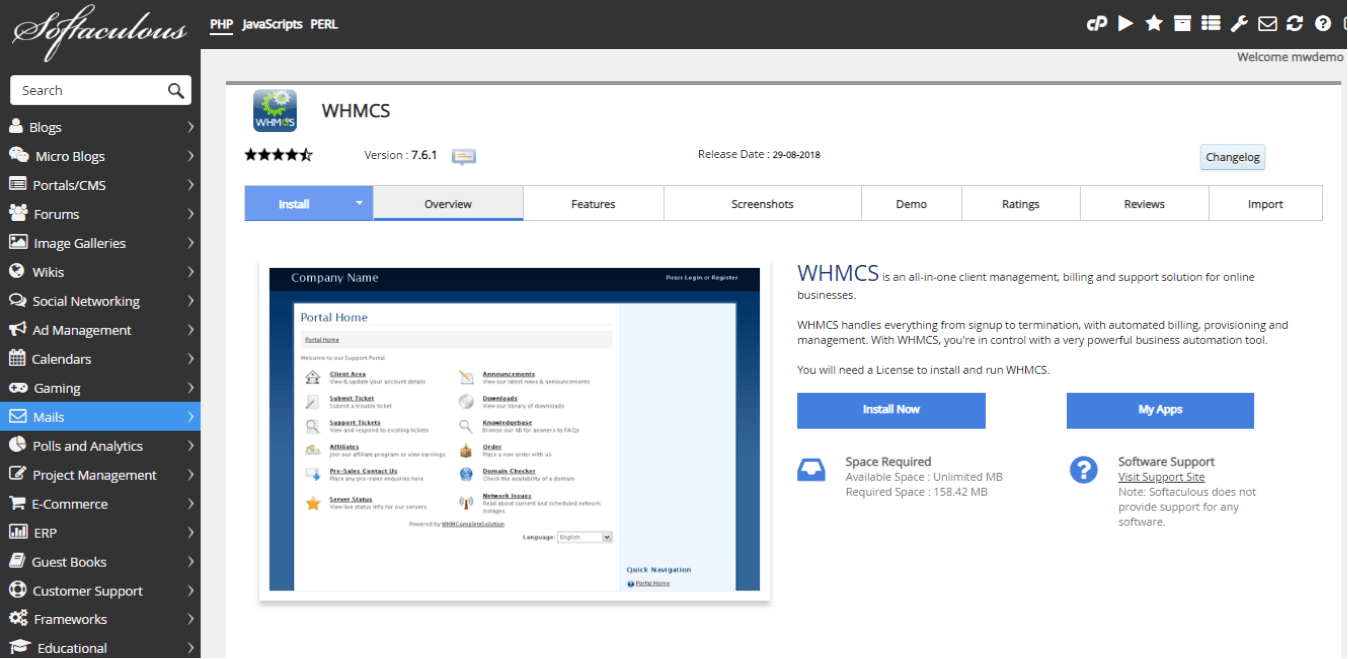 Discover the Steps to Install WHMCS from cPanel using
