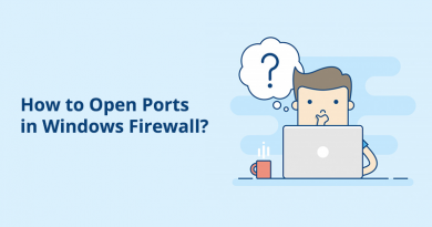 How to Open Ports in Windows Firewall?