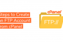 Steps to Create an FTP Account from cPanel