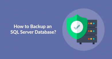 How to backup SQL
