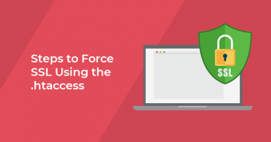 Steps to Force SSL Using the .htaccess