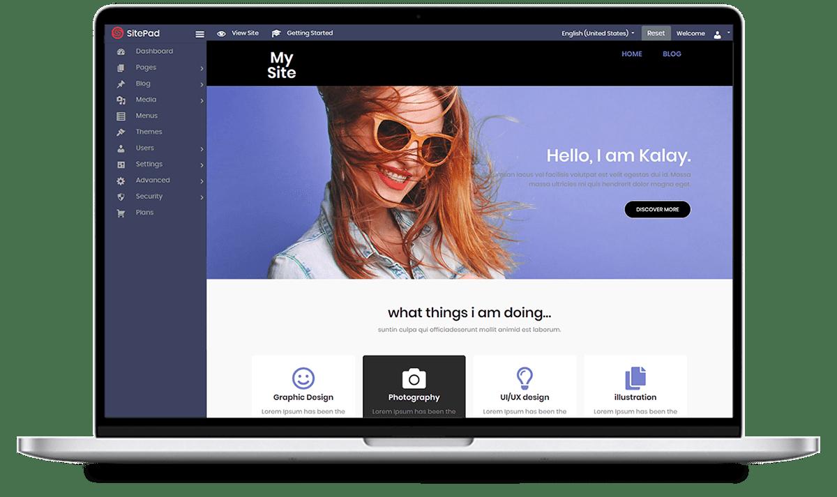 Sitepad Website Builder