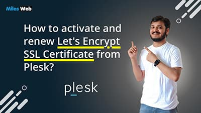 How to activate and renew Let's Encrypt SSL Certificate from Plesk?