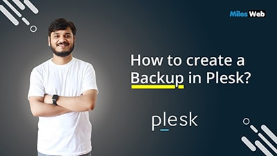 How to create a Backup in Plesk?