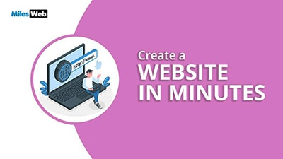 Create a Website In Minutes
