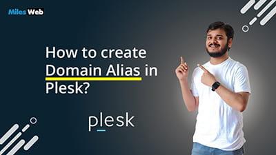 How to create Domain Alias in Plesk?