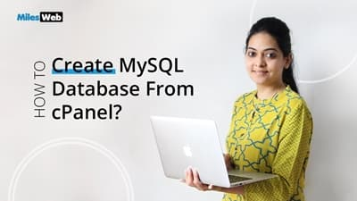 How to Create MySQL Database From cPanel?