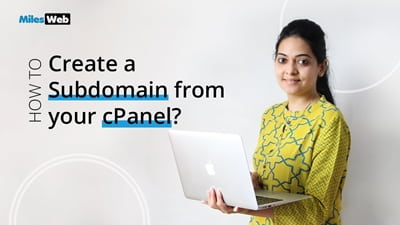 How to Create a Subdomain From your cPanel?